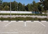 Empty car parking — Stock Photo