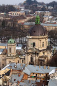 Dominican cathedral, Lviv — Stock Photo