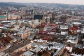 Lviv stadsgezicht — Stockfoto