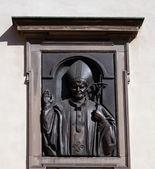 Sculptuur paus johannes paulus ii — Stockfoto