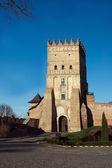 Lubert zamku w łucku — Zdjęcie stockowe