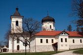 Capriana Monastery, Stone Church — Stock Photo