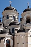 Capriana Monastery, the Winter Church — Stock Photo