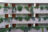Hotel gangen — Stockfoto