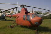 Very old helicopter — Foto Stock