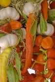 Zelenina pozadí — Stock fotografie