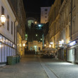 Stock Photo: Night Zagreb street