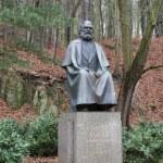 ������, ������: Karl Marx monument in Karlovy Vary
