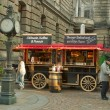 Kiosk with drinks and snacks in Dresden — Stock Photo