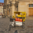 Rikscha Taxi in Dresden - Stock Photo
