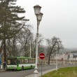 Public transport in Marianske Lazne — Stock Photo