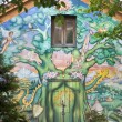 Stock Photo: Mural in Christiania