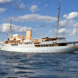 "Danish Queen's Naval Yacht ""Dannebrog"" - Stock Photo"
