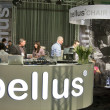 Bellus upholstered furniture booth — Stock Photo