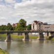 Uzhhorod bridge - Foto Stock