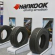Hankook tires booth — Stock Photo