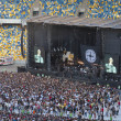 Постер, плакат: Kasabian rock band performance in Kiev