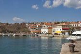 Adriatische silo dorp — Stockfoto