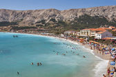 Baska laguna, Croatia. — Stock Photo