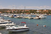 Krk marina — Stock Photo