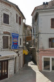 Umag narrow street — Stock Photo