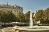 Park in Zagreb — Stock Photo
