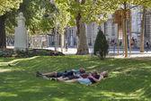 Zagreb park — Stock Photo