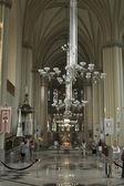 Church of Sts. Olha and Elizabeth interior. Lviv, Ukraine. — Stock Photo