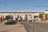 Simferopol Railway Station — Stock Photo