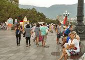 Yalta seafront, Crimea — Stock Photo