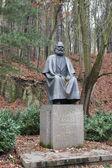 Karl Marx'ın anıt karlovy Vary — Stok fotoğraf
