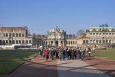 Zwinger Museum in Dresden, Germany — Stock Photo