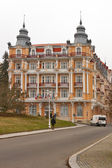 Luxury hotel Hvezda-Skalnik in Marianske Lazne, Czech Republic — Stock Photo