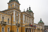 Luxury hotel Nove Lazne facade in Marianske Lazne, Czech Republi — Stock Photo