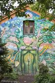 Mural in Christiania — Stock Photo