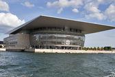 Casa de ópera de copenhague, vista para o mar — Foto Stock