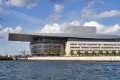 Copenhagen Opera House, sea view — Stock Photo
