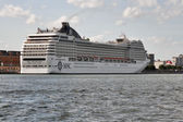 MSC Orchestra cruise ship — Stock Photo