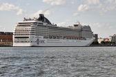 MSC Orchestra cruise ship — Stock Photo