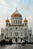 Moscow Temple of Christ Our Saviour — Stok fotoğraf
