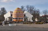 Pysanka Museum in Kolomyia, Ivano-Frankivska Oblast of Ukraine — Stock Photo