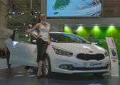 KIA Ceed car model on display — Foto Stock