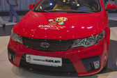 KIA Cerato Koup car model on display — Stock Photo