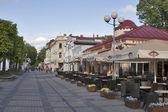 Jurmala street, Latvia. — Stock Photo