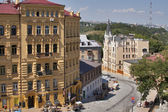 Andriyivskyy Descent street in Kiev — Stock Photo