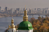 Autumn Kiev cityscape — Stock Photo