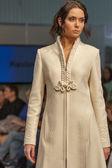 Fashion model at Kyiv Fashion 2013 — Stock Photo