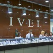 Kyiv Ivel Jewelry Company booth — Stock Photo #23893517