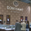 Dominant Diamonds Jewelry Company booth — Stock Photo