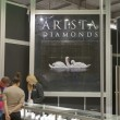 AristDiamonds Jewelry Factory booth — Stok Fotoğraf #24014431